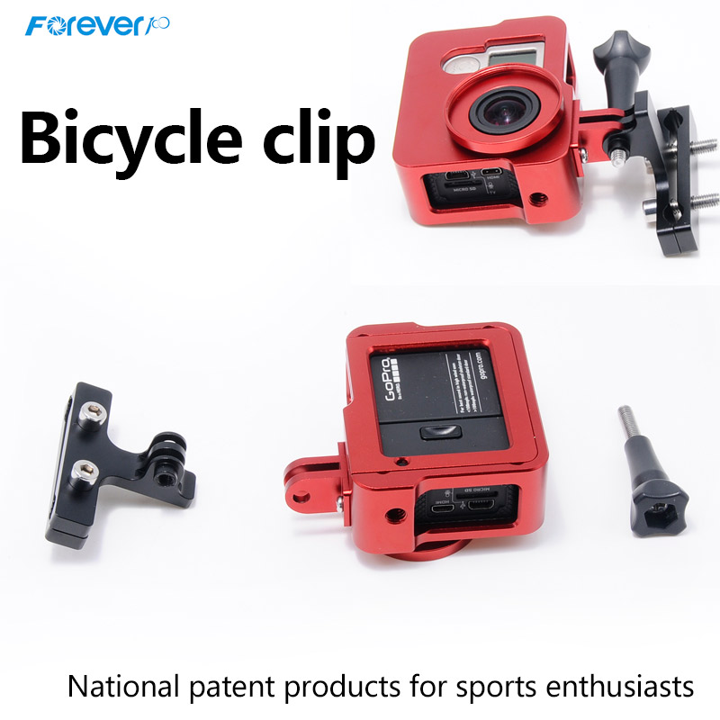 New Arrived Universal Bicycle camera Holder Clip Tightly Bike camera Mount Holder For Gopros Action camera