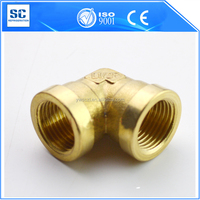 top quality pipe fitting female to brass elbow 90 degree elbow
