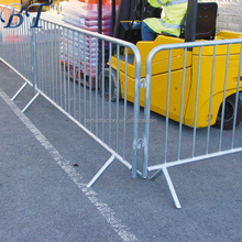 mobile pedestrian barrier / High Quality Portable Mobile Barrier / Traffic Crowd Control Portable Mobile Barrier