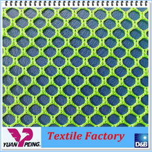Good Color Fastness Polyester Mesh Fabric Bag Making Material