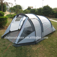 Tunnel Family 8 Person Tent Outdoor Waterproof 2 Room Awning & Canopy