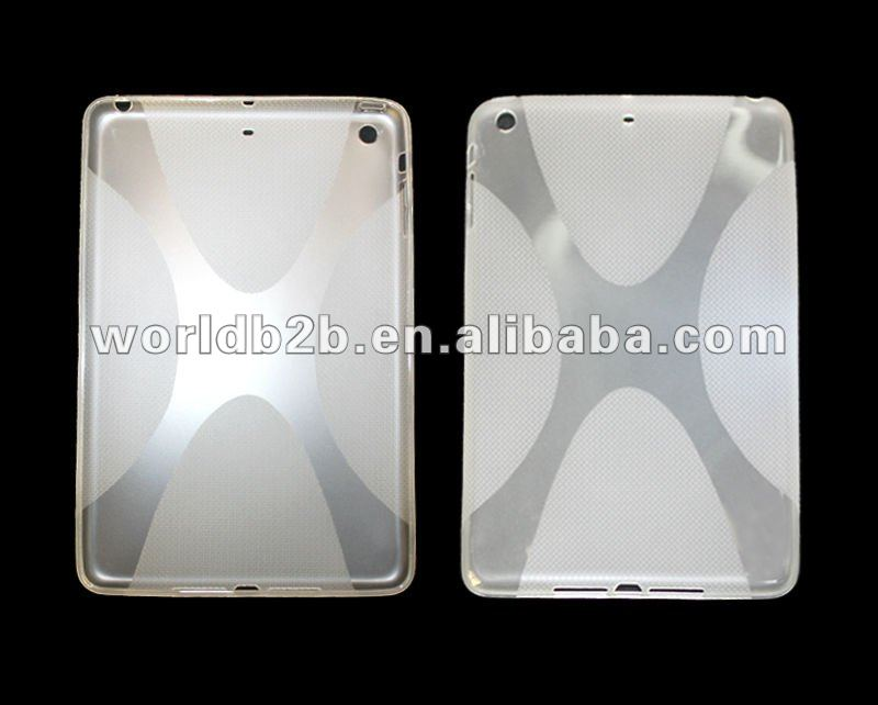 X form TPU Gel Clear Case Cover for iPad Mini case