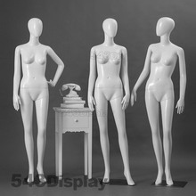 Mannequin parts with fashion female model gross and matt surface