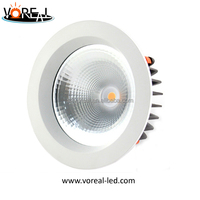 powerful dimmable 30w cob led downlight