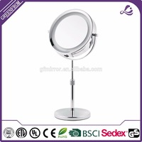17CM Extendable Classic Double Vision Desktop LED Makeup Mirror