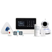 Google play download home security system/smart home WIFI/GSM/GPRS alarm system support multi-language wireless alarm