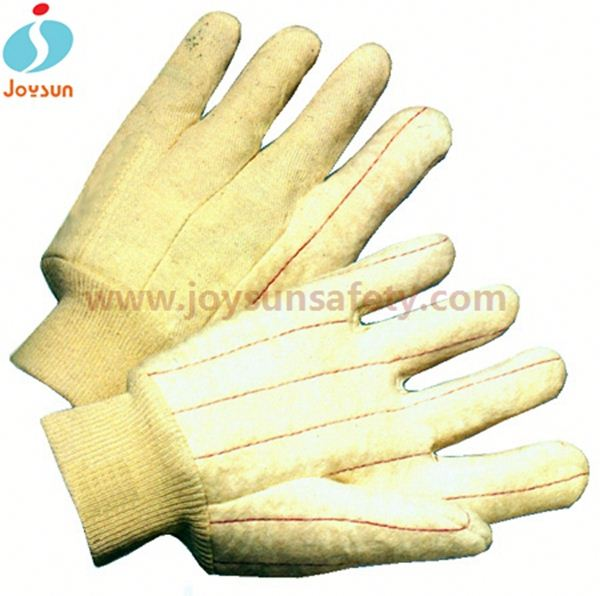 cotton uv glove XLblue safety construction glove