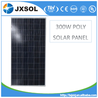 300watt poly pv solar panel with CE/IEC/TUV/UL Certificate china manufacture solar module
