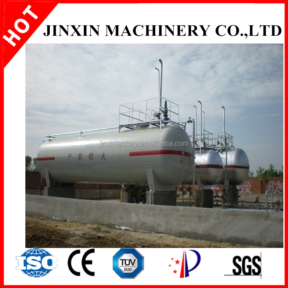 35 cbm steel lpg storage tank/pressure vessel for gas and oil /chemical