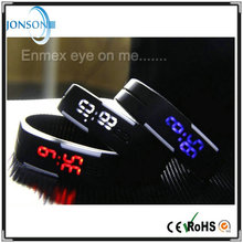 New arrival customized logo led lighted touch watch mixed for promotional gift