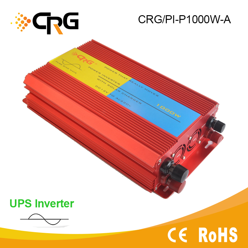 2000W Pure Sine Wave Power Inverter 12V 220V with Battery Charger