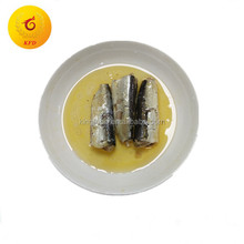 125g easy open club can package canned sardine fish with halal in vegetable oil