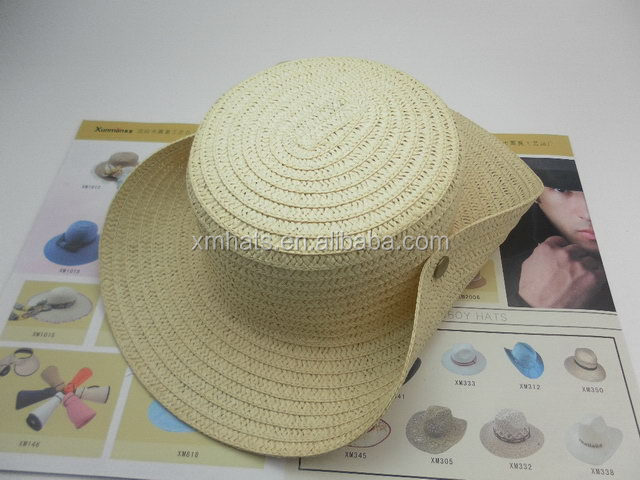 2015 made in china top sell lovely crafted straw cowboy hats