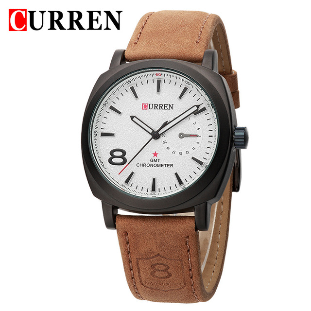 Wholesale Import Watches Leather Strap Branded Watches for Men