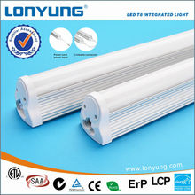 High Efficiency ETL UL DLC 18W 1.2M Integrated Family Tube T8 Led Linear Light