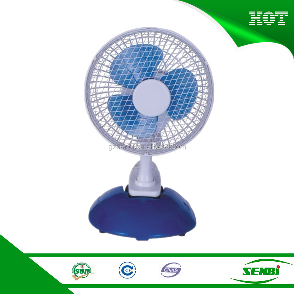 6'' DC 5V or AC220V sunny mini USB clip desk fan toy fan blade