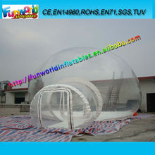 EN14960 Clear Inflatable Lawn Tent for Sale