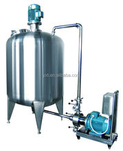 pigment &glue &sealing compound &resin emulsifying processin pipeline high shear dispersing fixed emulsifier tank