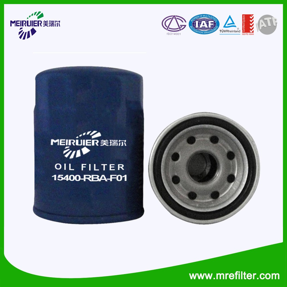 PH5317 Automative lubrication system oil filter spare parts 15400-RBA-F01