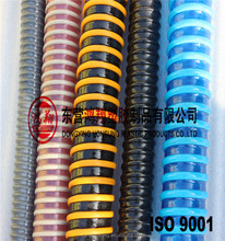 Hot sale flexible pvc spiral reinforced corrugated pvc suction hose