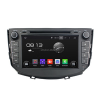 Quad core 16g Nand Flash Ram 1gb Car DVD Player For X60 with touch screen built-in GPS BT support SWC Radio