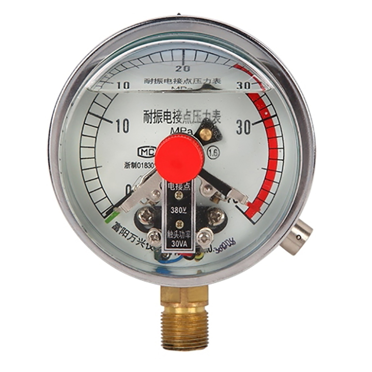 Factory Directly industry all stainless steel vibration proof bourdon tube pressure gauge