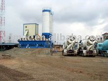 fixed concrete batching plant HZS60 mixing plant capacity 60m3/h used for construction equipment