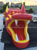 2016 New Design Dragon Inflatable Obstacle Course For Sale