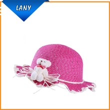 Wholesale fashion baby sun hat protection baby straw hat