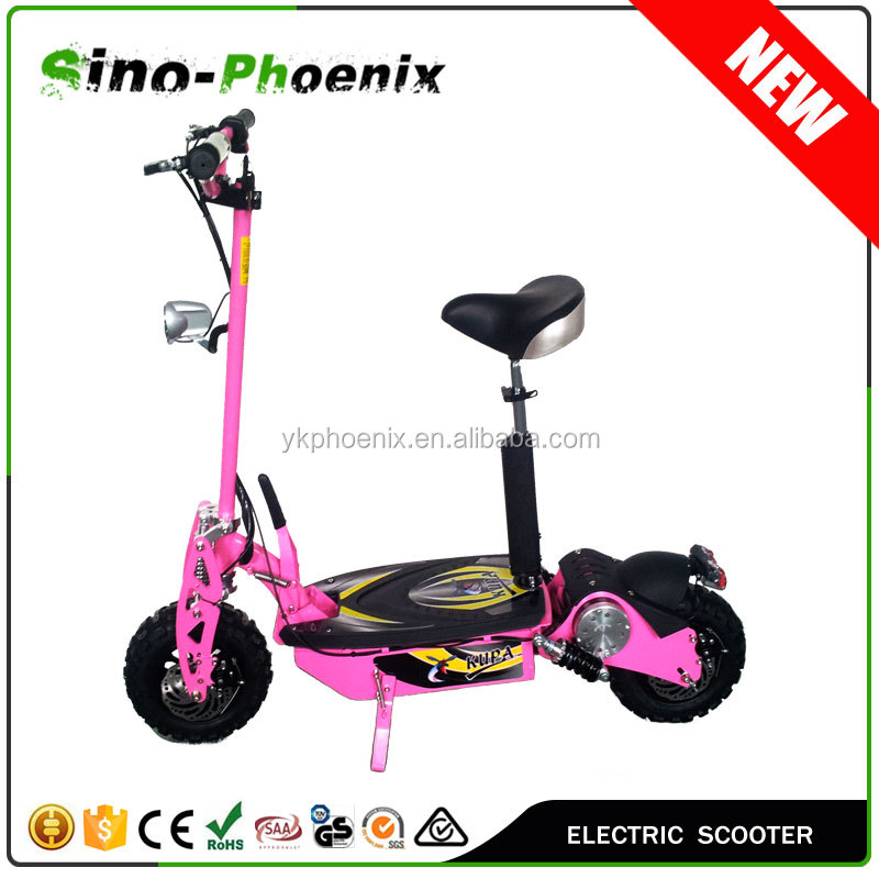 "2016 NEW 2 Wheel evo Electric Scooter 1000w 48v with 12"" off-road tyre for adults ( Offroad PES01-48V 1000watt )"