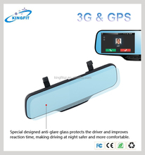 5 Inch MT6582 Quad Core 3G Phone Call Bluetooth GPS Car DVR Made in China