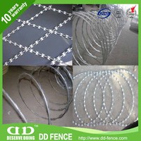 circular barbed wire clear view fencing gauteng cochrane razor wire