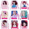 2016 k-pop cell phone bag pu phone case with kawaii cartoon wholesale price for lady phone bags