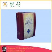 flexible back evangelical holy bible printing with jacket from China printing company