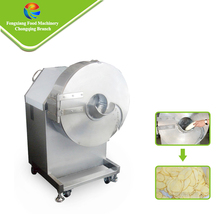 FC-582 High efficiency potato slicing machine,potato chips cutter,electric potato chip slicer