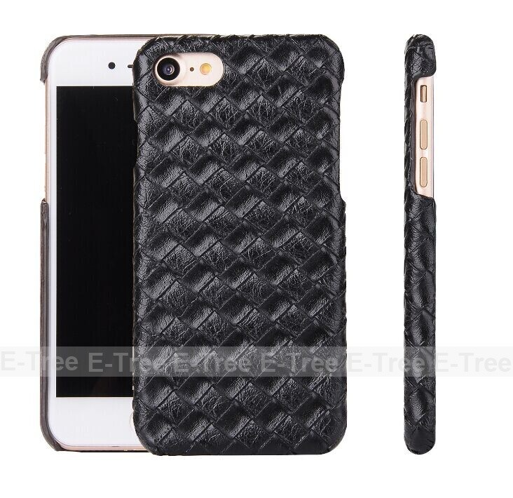 New Coming High Quality Carbon Fiber Cellphone Pu Leather Back Cover Case For iPhone 7