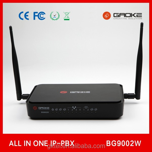 asterisk IP PBX wifi router switch compatible all ip phone ivr and call center solution