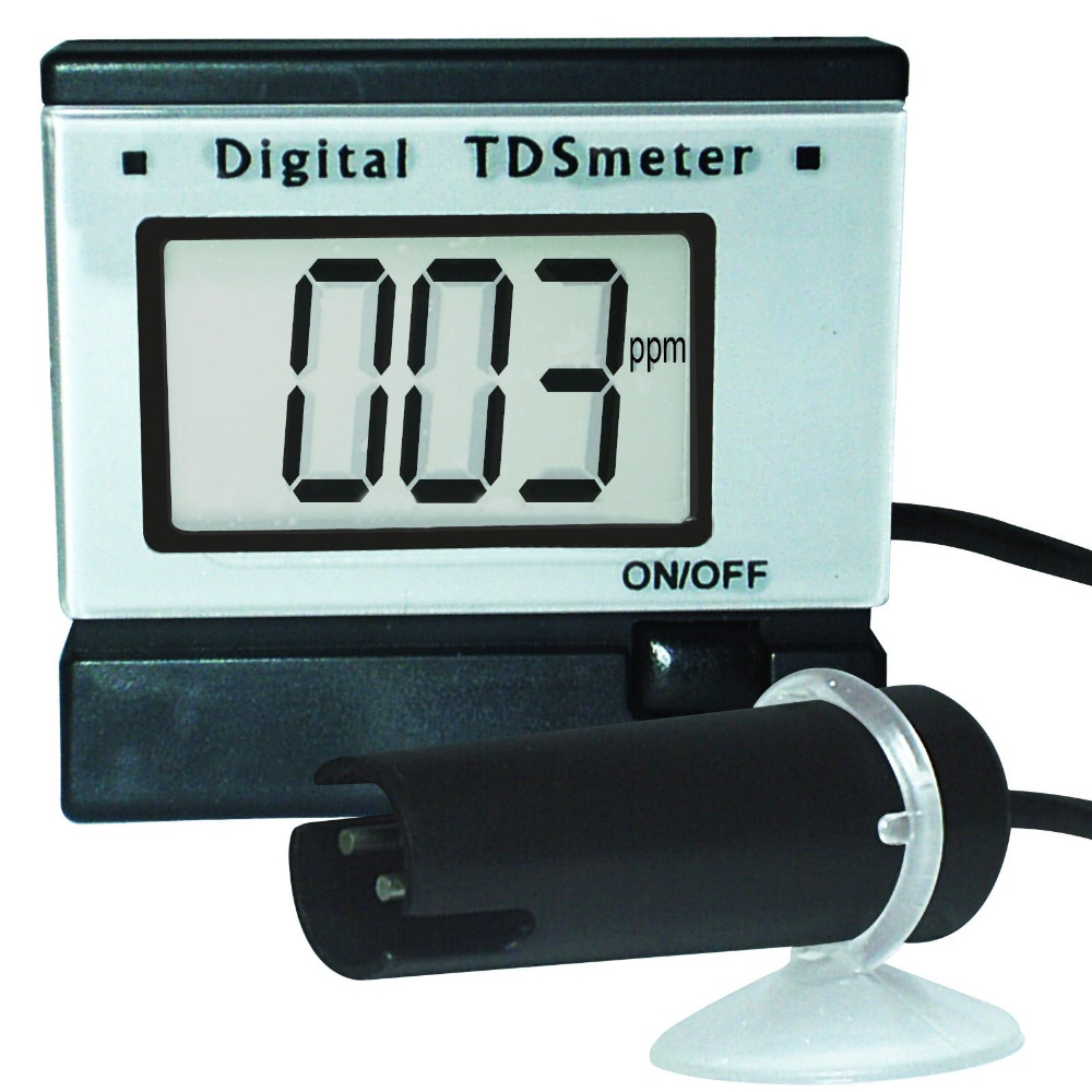 0~1999 PPm (mg/L) Range Digital TDS <strong>Meter</strong> + Monitor + Power Adaptor