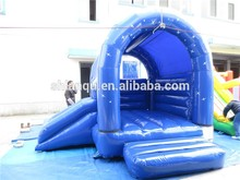 green small inflatable bounce