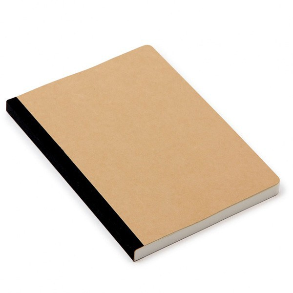 custom various brown paper composition notebook
