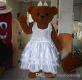 Teddy bear mascot costume/mascot costume for wedding