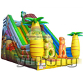 coconut tree PVC bouncy house best quality inflatable slide