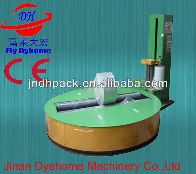 Paper roll stretch film wrapping machine with lowest price