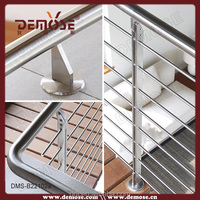 copper pipe bracket stainless steel cable railings