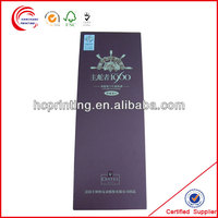 Customize High Quality wine glass cardboard packaging box at best price