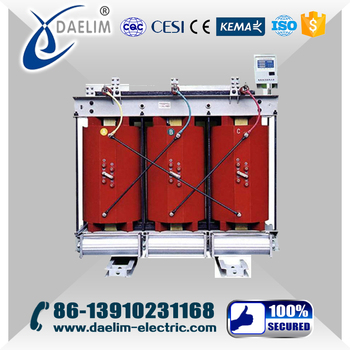 High Frequency 22/0.4kv Exoxy Resin Dry Type Power Transformer Price