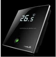 HL2028 series wifi touchscreen fan coil thermostats, high-end, luxurious with large LCD display screen