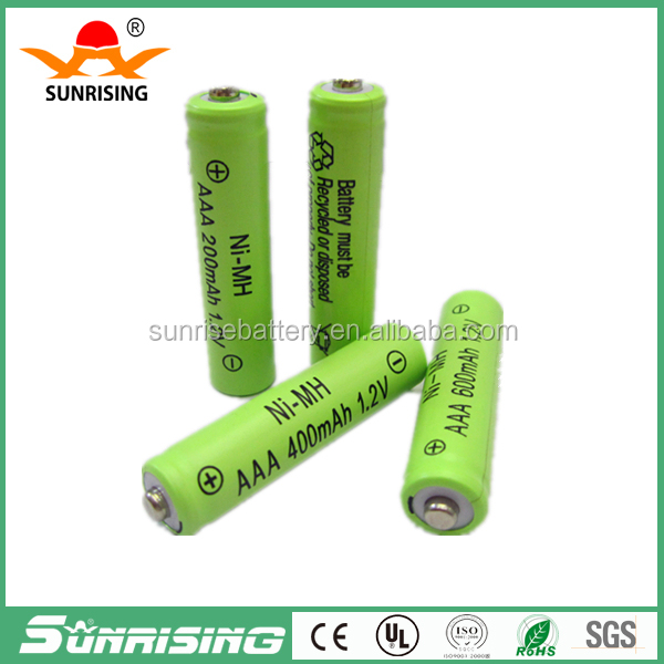low discharge 1.2V AAA Ni-MH Rechargeable battery for Electric Shaver razor 600mAh