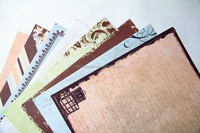 Paper pack pad printing factory in scrapbooking paper craft