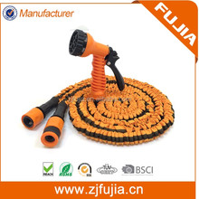 High Pressure Nozzle Flexible Expandable Garden Hose for car washing